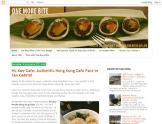 onemorebiteblog.blogspot.com screenshot