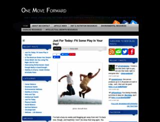 onemoveforward.com screenshot