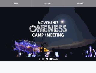 onenesscamp.org screenshot