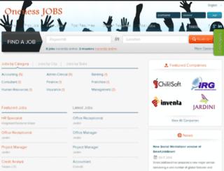 onenesslifeindia.com screenshot