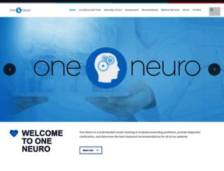oneneuro.com screenshot
