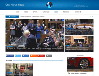 onenewspage.com.au screenshot