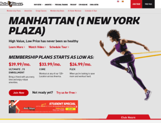 onenewyorkplaza.retrofitness.net screenshot