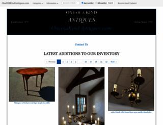 oneofakindantiques.com screenshot