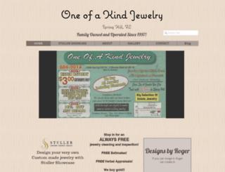oneofakindjewelryinc.com screenshot