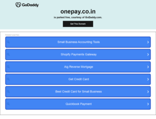 onepay.co.in screenshot