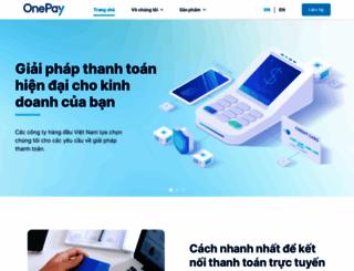 onepay.vn screenshot