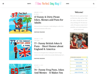 oneperfectdayblog.net screenshot