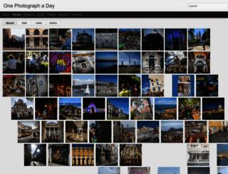 onephotographaday.com screenshot