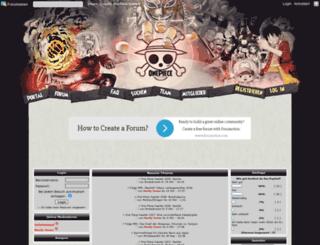 onepiece-mangas.com screenshot