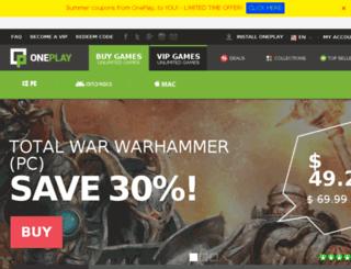 oneplay.com screenshot