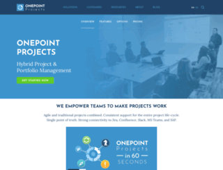onepoint-project.com screenshot