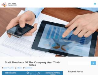 onepointclassifieds.com screenshot
