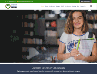 onepointeducation.co.in screenshot