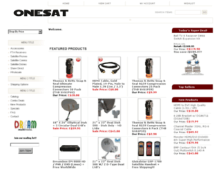 onesat.ca screenshot