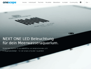 onescape.de screenshot
