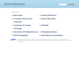 onescube.com screenshot