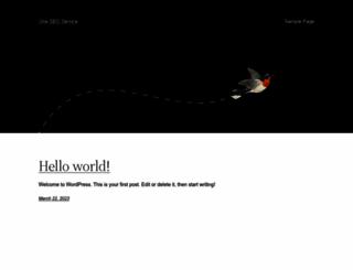 oneseoservices.com screenshot