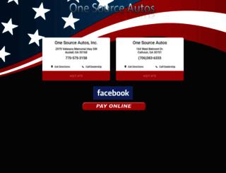 onesourceautos.com screenshot