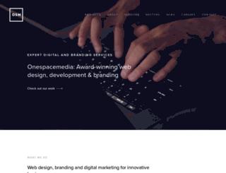 onespacemedia.com screenshot