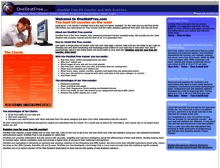 onestatfree.com screenshot