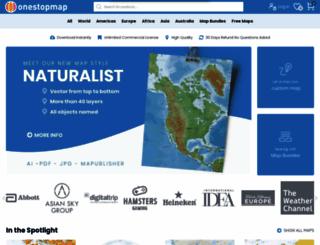 onestopmap.com screenshot