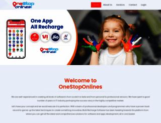 onestoponlines.com screenshot