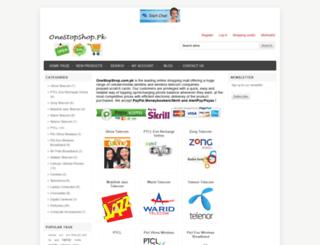 onestopshop.com.pk screenshot