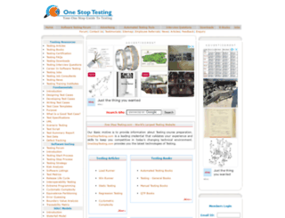 onestoptesting.com screenshot