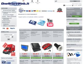 onestoreweb.it screenshot