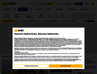 onet.pl screenshot