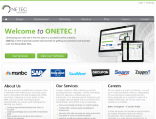 onetec.pk screenshot