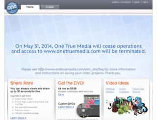 onetruemedia.com screenshot