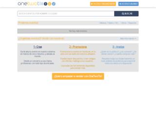 onetwotix.es screenshot