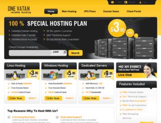 onevatan.net screenshot