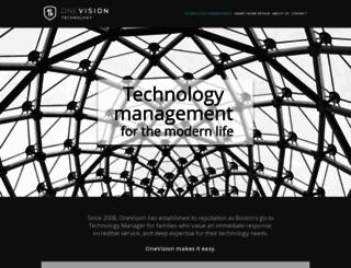 onevisiontechnology.com screenshot