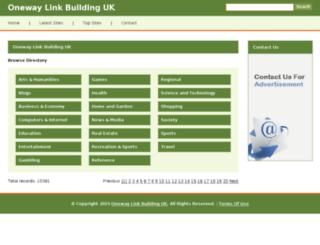 oneway-linkbuilding.co.uk screenshot