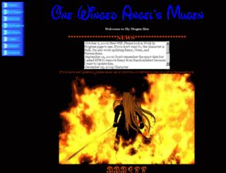 onewingedangel.6te.net screenshot