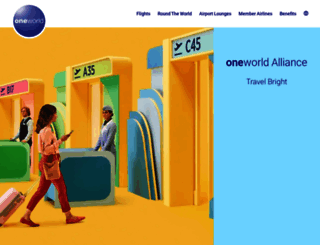 oneworld.com screenshot