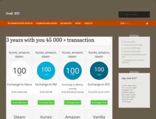 onexbtc.com screenshot