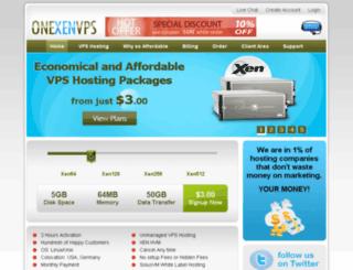 onexenvps.com screenshot