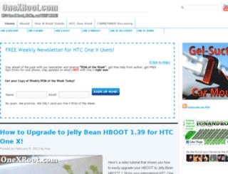 onexroot.com screenshot