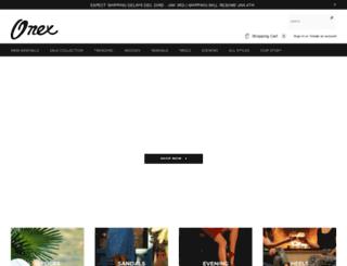 onexshoes.com screenshot