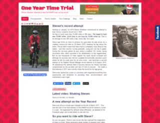 oneyeartimetrial.org.uk screenshot