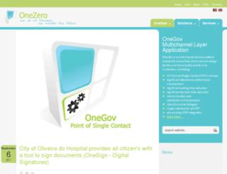 onezero.pt screenshot