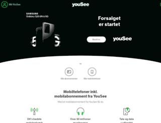 onfone.dk screenshot