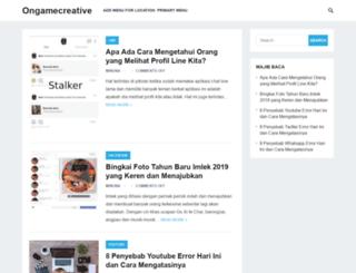 ongamecreative.com screenshot