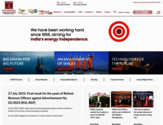 ongcindia.com screenshot