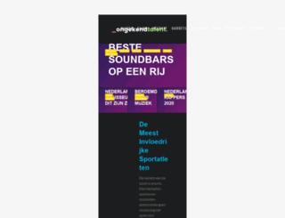 ongekendtalent.nl screenshot