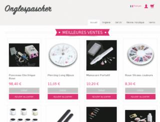 onglepascher.fr screenshot